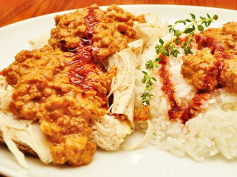 Circassian chicken is a Turkish dish of Georgian origin (walnuts are a signature ingredient of Georgian cuisine). It tastes even better the day after it's made.