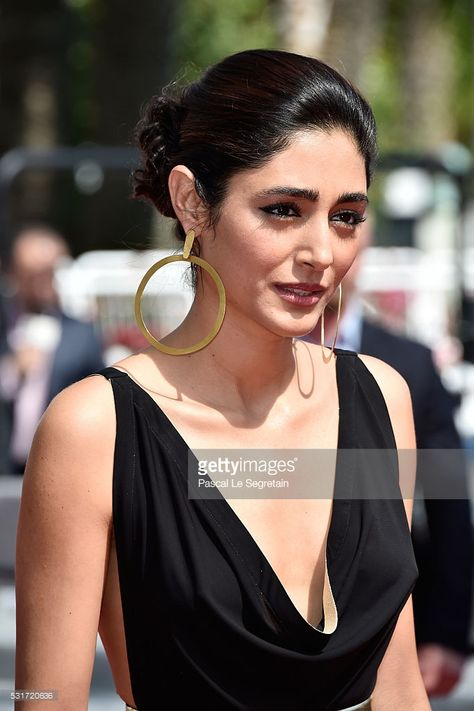 IRANIAN ACTRESS_Golshifteh Farahani attends the 'Paterson' premiere during the annual Cannes Film Festival at the Palais des Festivals on May 2016 in Cannes, France.