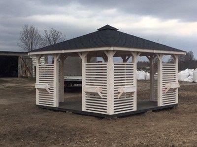 Drewniana Altana Ogrodowa Altanka Altany 3x3m 6776450742 Oficjalne Archiwum Allegro Pergola Gazebo Outdoor Structures