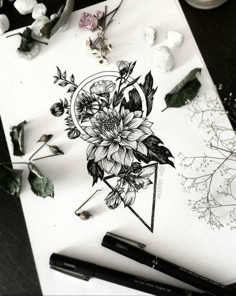 Ink Drawing Let the ink blow your mind. -