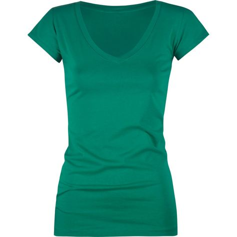 FULL TILT Essential V-Neck Womens Tee ($5.99) ❤ liked on Polyvore featuring tops, t-shirts, shirts, tees, green, women, green v neck shirt, vneck t shirts, vneck shirts and t shirts