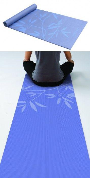 Gaiam Premium Print Yoga Mat Ash Leaves 5 6mm Print Yoga Mat Yoga Mat Premium Print