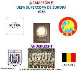 TODOCAMPEONES ( TODOFUTBOL ): ( TODO FUTBOL ) CAMPEONES SUPERCOPA DE EUROPA