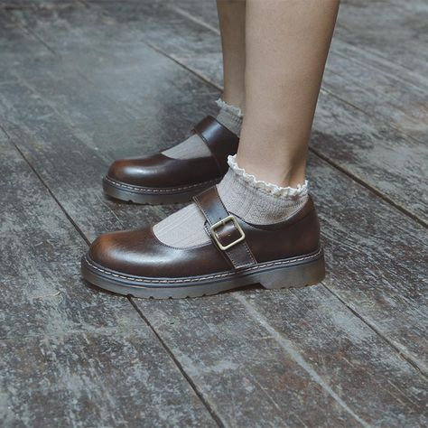 Sock Shoes, Cute Shoes, Slip On Shoes, Me Too Shoes, Mary Jane Outfit, Mary Jane Shoes, October Fashion, Kawaii Shoes, Michael Kors Wallet
