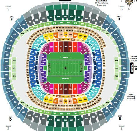 New Orleans Saints Vs Eagles 2 Tix Lower Level 1 13 19 Https Ebay To 2rfefzb Mercedes Benz Mercedes Vs