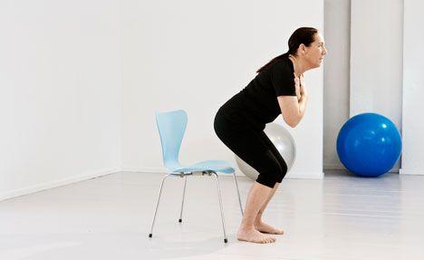 Øvelser for dine knæ på film - træning af knæene