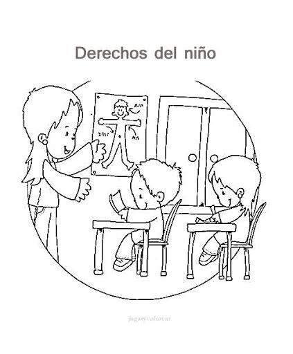 Los Derechos Del Nino En Mandalas Para Colorear Middle School Spanish Social Studies Middle School