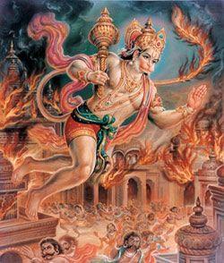Lanka Dahan Ramayan Se - Kharita Blog