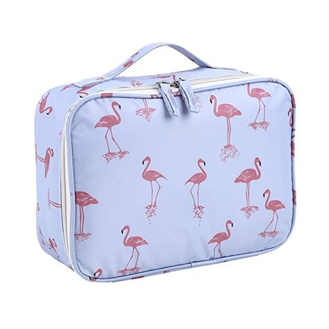 da045e955ec9 Lalang Flamingo Toiletry Bag Large Capacity Travel Cosmetic Bags ...
