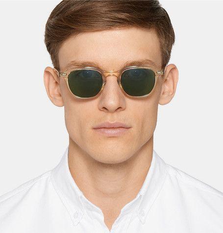 5c68aa2a4 MOSCOT Billik Round-Frame Acetate Sunglasses | Spring 2018 Menswear ...