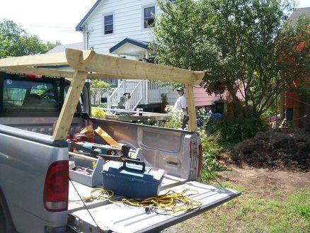 Homemade Truck Rack Quick Release Ladder For My By Hike Lumberjocks Com Accessories Hiking Kayak And