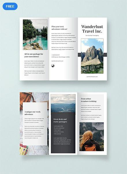 Free Sample Travel Brochure Travel Brochure Design Travel