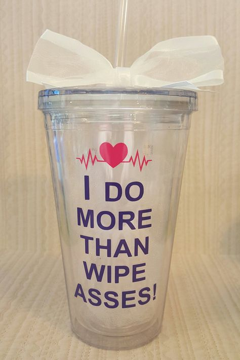CNA Proud to be a CNA Tumbler. by ThatGlassStore on Etsy