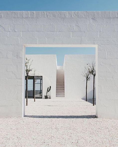 @masseriamoroseta #Ostuni, #Italy 2016 | Design by @andrewopenhouse | ph…