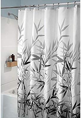 Interdesign Anzu Fabric Shower Curtain Water Repellent And Mold