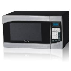 Oster Countertop Microwave Stainless Steel Black 9 Cu Ft 900