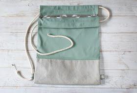 Joanka Z Blog O Szyciu Tutorial Jak Uszyc Plecak Worek Z Tkaniny I Papieru Washpapa