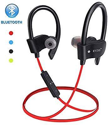 Amazon Com Wireless Bluetooth Earbuds Headphones Waterproof In Ear Flexible Earphone Earplug Noi Bluetooth Earbuds Wireless Bluetooth Device Bluetooth Earbuds