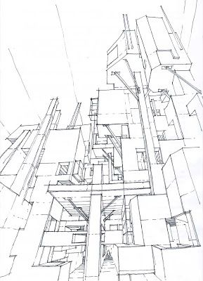 The Architecture Draftsman Architecture Sketch Architecture Drawing Architecture
