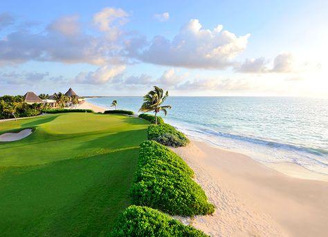 Mayakoba (El Camaleon), Riviera Maya, Quintana Roo... #golf #courses
