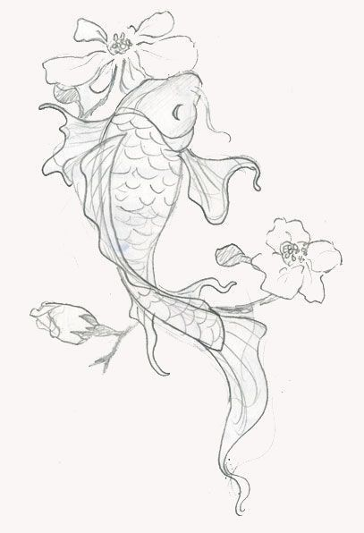Japanese Dragon Koi Fish Tattoo Designs, Drawings and Outlines. The inspirational best red and blue koi tattoos for on your sleeve, arm or thigh. drawing 110 Best Japanese Koi Fish Tattoo Designs and Drawings - Piercings Models Japanese Koi Fish Tattoo, Koi Fish Drawing, Fish Drawings, Japanese Tattoos, Japanese Drawings, Pencil Drawings, Pencil Tattoo, Blue Drawings, Artwork Drawings