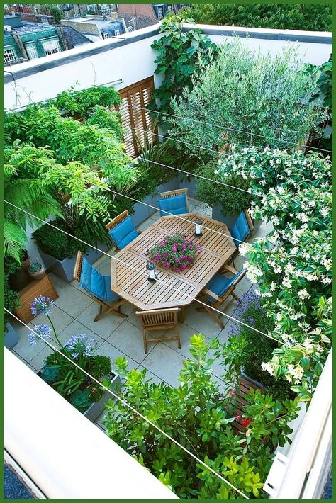 Terrace Garden Design Ideas and Inspirations Elegant Any Rooftop Terrace Could B... - #Design #Elega...