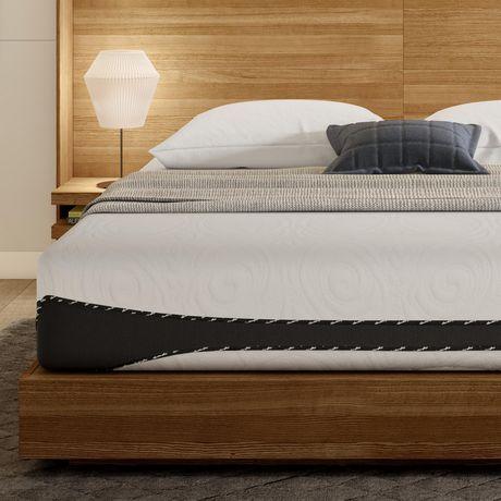 Dhp Aura 12 Inch Luxury Gel Memory Foam Mattress With Certipur Us