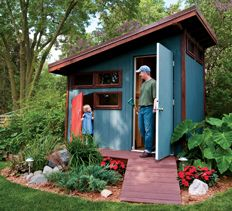 Superb Design And Build A Shed And Playhouse Combo That Your Whole Family Will  Enjoy. Http://www.handymanclub.com/projects/articletype/articleview/articlu2026