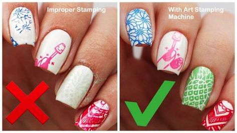 Nail Stamping - 5 Things You're Doing WRONG When Stamping Your Nails! In today's nail art tutorial, Miri and I will be covering 5 of the most common mistakes that people make when using a stamper to create nail art designs.