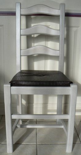 Tuto Relooking Chaise Rustique Chaise Rustique