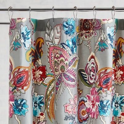Our Whimsical Ashford Shower Curtain Gives A Cheerful Finishing