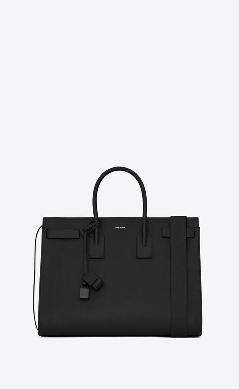 Yves Saint Laurent Bag, Carry All Bag, Black Tote Bag, Ysl Black Bag, Cloth Bags, Luxury Bags, Messing, My Bags, Fashion Bags