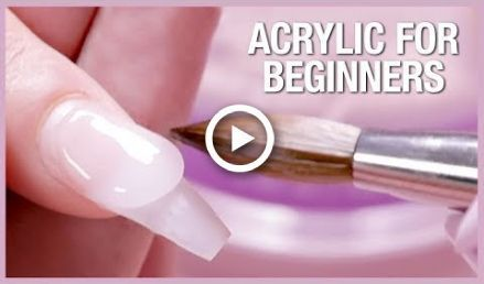 Acrylic Nail Tutorial How To Apply Acrylic For Beginners Nails Nails Art Tu In 2020 Diy Acrylic Nails Acrylic Nail Kit Nail Tutorials
