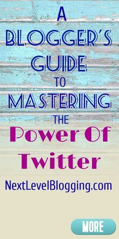 A Blogger S Guide To Mastering The Power Of Twitter Twitter For Business Twitter Marketing Strategy Blog Help