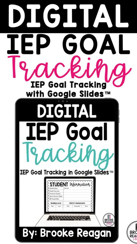 Digital IEP Goal Tracking Data Collection
