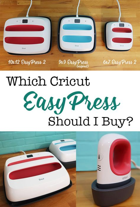 Which Cricut EasyPress Should I Buy?