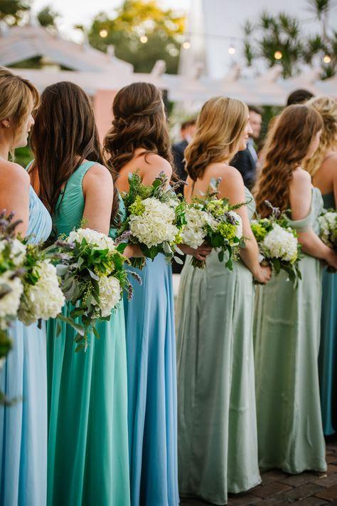 A sea inspired Greek wedding ceremony in St. Petersburg with a palette of blues and sea foam green by Ashlee Hamon Photography  #BlueWeddingIdeas #LuxuryWeddingsInspiration #DestinationWeddings #SoftFeminineBridalInspiration