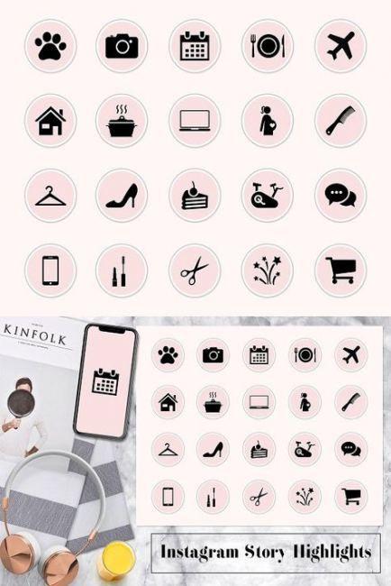 Lighting pink instagram highlight covers 34+ Super Ideas