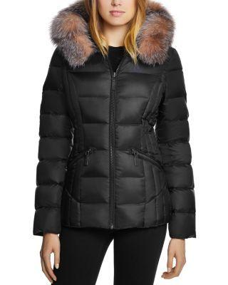 af04087e0 Nikki Saga Fur Trim Short Down Coat in 2019   MY STYLE   Down coat ...