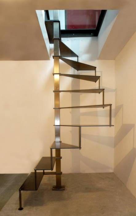 Steel Up Petit Escalier En Acier Escadas
