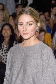 Olivia Palermo Dangling Gemstone Earrings