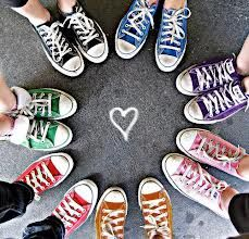 e94bfcefaeee53 Converse (I would do this with my friends but with heels !