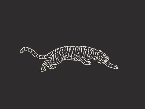 They called me Tiger Claw back in high school. : They called me Tiger Claw by Jacob Rhoades Tiger Illustration, Handy Wallpaper, Posca Art, Tiger Design, Tiger Tattoo Design, Desenho Tattoo, Animal Logo, Skin Art, Art Inspo
