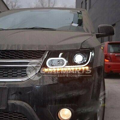 Ad Ebay Headlights For 2009 2018 Dodge Journey Jcuv Front Bumper Led Hilo Bi Xenon Head Dodge Journey Hid Headlights Dodge