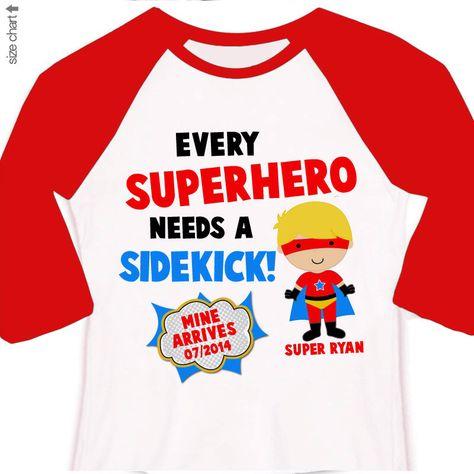 89176ba3 Big brother superhero or big brother to be every superhero needs a sidekick pregnancy  announcement raglan