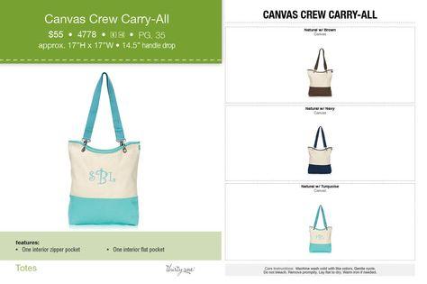 canvas-crew-carry-all!www.mythirtyone.com/307721 Thanks!
