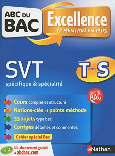 Telecharger Abc Du Bac Excellence Svt Term S Spe In 2020 Ebook Ebook Pdf Free Reading