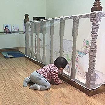 Reer Filet De Protection Pour Balcon 94cm X 294cm Amazon Fr Bebes Puericulture Baby Safety Baby Stairs Protector