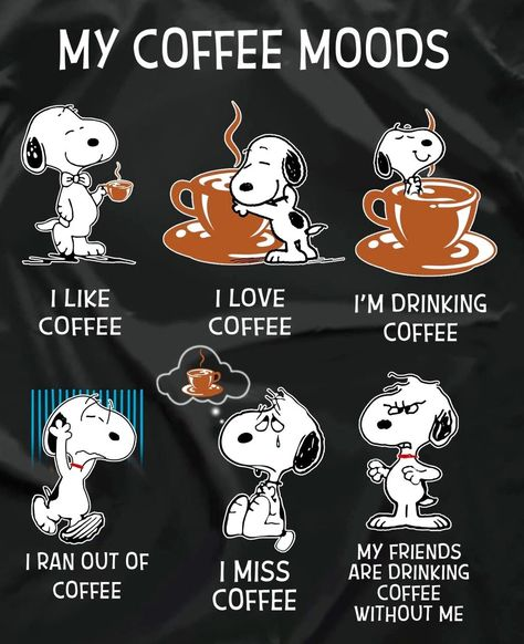 #snoopy #coffee #andSNOOPY and COFFEE