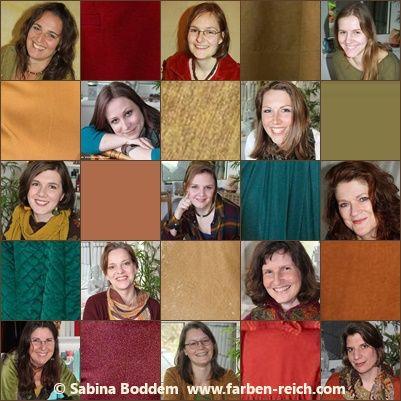 Sechs Farbtypen Auf Einen Blick Mit Fotos
